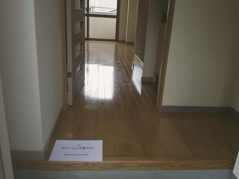 ハウスクリーニング後のマンション室内_01 《 Asia Home 施工事例002 川崎市麻生区 1Kマンション 》