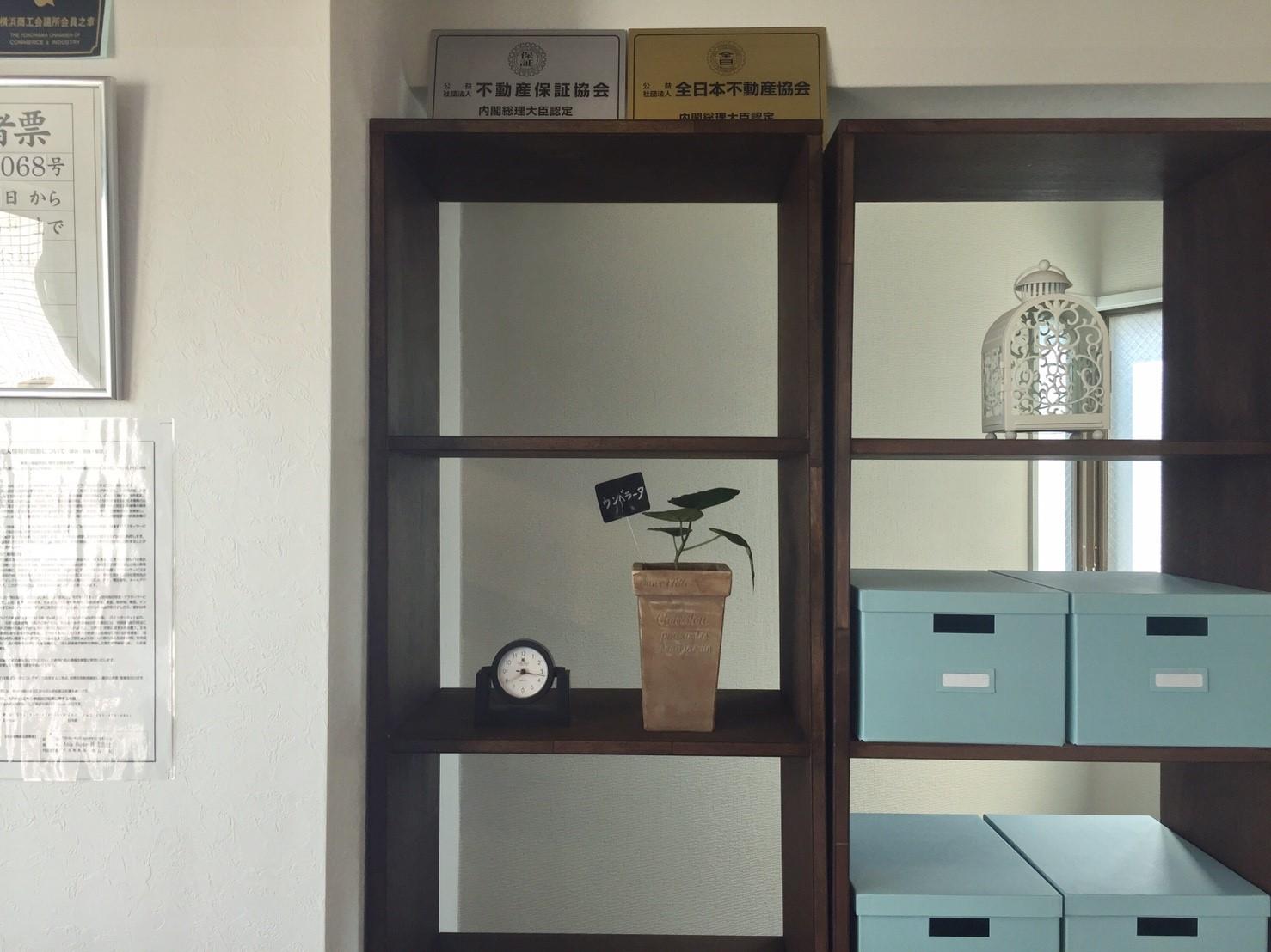 新オフィスの様子 木材の棚を自作しました(DIY)《 AsiaHome(エイジアホーム)会社移転》